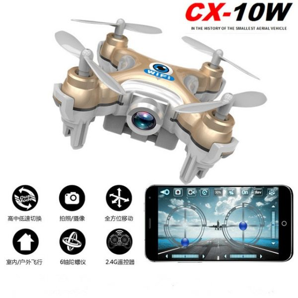 Cheerson CX-10W WiFi Control Drones With High Pixel Camera