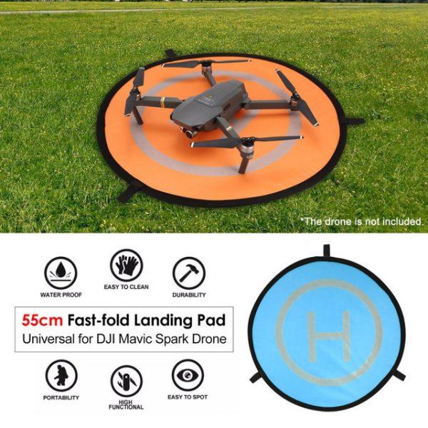 ONLENY Foldable Landing FPV Parking Apron Pad 55cm Fast-fold for Mavic 2 Pro