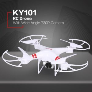 OCDAY KY101 WiFi FPV Wide Angle 720P/1080P Camera Selfie RC Drone