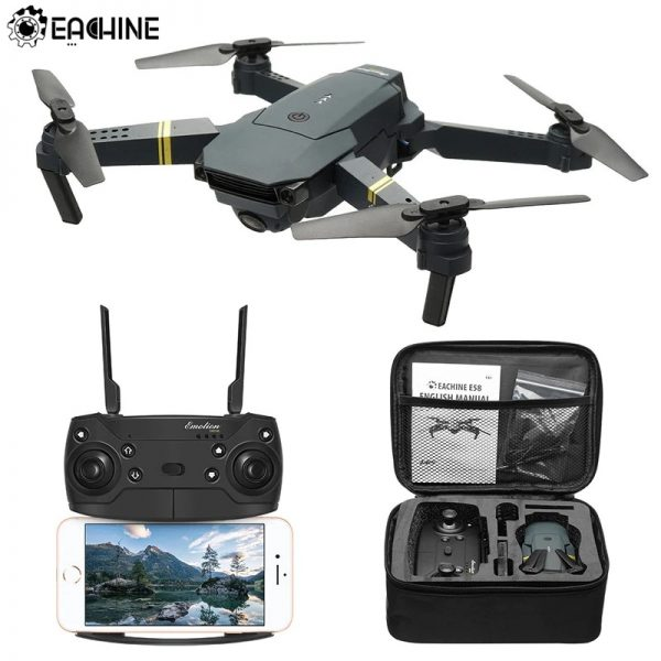 Eachine E58 with Bag Drones and Repair